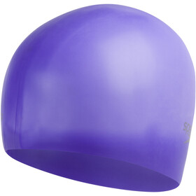 speedo Plain Moulded Cuffia in silicone, ultra violet